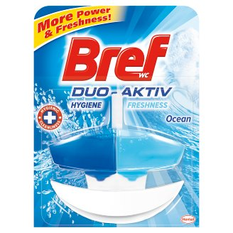 Bref Duo Aktiv Ocean Toilet Block 50 ml