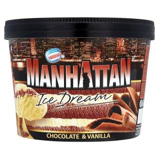 Nestlé Manhattan vaníliás és csokoládés jégkrém 1400 ml