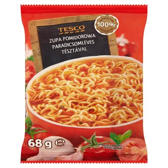 Tesco Tomato Soup with Noodles 68 g