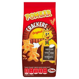 Pom-Bär Crackers Original sós kréker 90 g