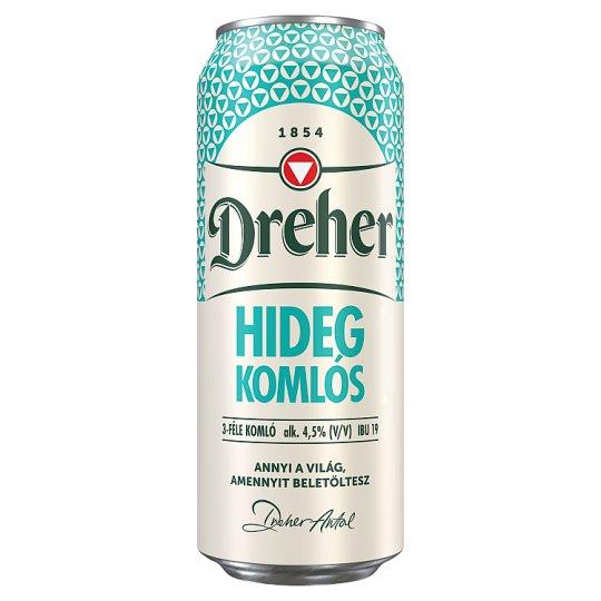 Dreher Hidegkomlós Lager Beer 4,5% 0,5 l