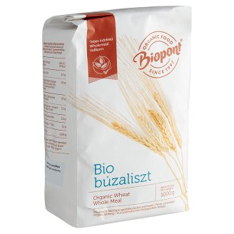 Biopont Organic Whole Meal Wheat Flour 1 kg