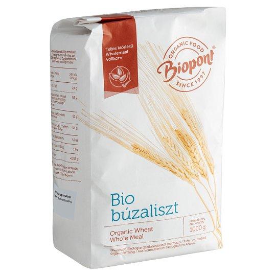 Biopont Organic Whole Meal Wheat Flour 1 kg
