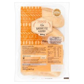 Tesco Pre-Baked Small Baguette 4 pcs 300 g