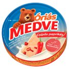 Medve Semi-Fat Processed Cheese Spread with Hot Paprika 6 pcs 200 g