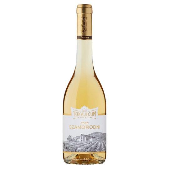 Tokajicum Tokaji Édes Szamorodni édes fehér borkülönlegesség 12% 0,5 l