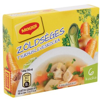 Maggi Chicken Bouillon Cubes with Vegetables 66 g