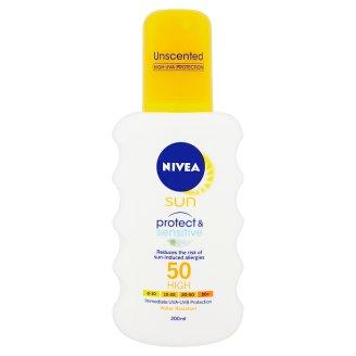 NIVEA SUN Protect & Sensitive Lotion Spray SPF 50 200 ml