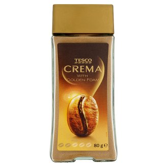 Tesco Crema Instant Coffee Powder 80 g