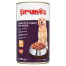 Brunos teljes értékű állateledel felnőtt kutyák számára, falatok baromfival szószban 1240 g