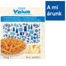 Tesco Value Quick-Frozen, Pre-Fried French Fries 1 kg