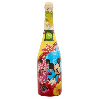 Disney Mickey Mouse & Friends Non-Alcoholic Sparkling White Grape Fruit Drink 0,75 l