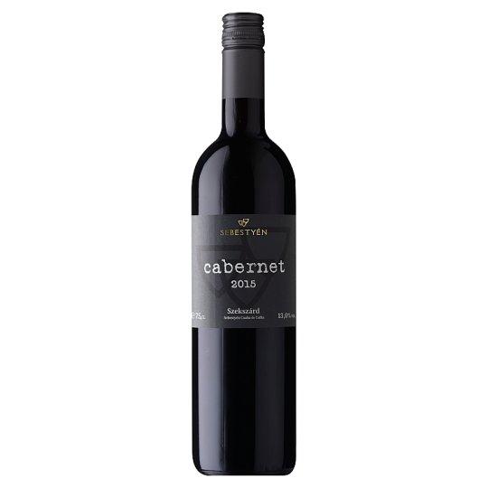Sebestyén Cabernet Cuvée Dry Red Wine 13% 0,75 l