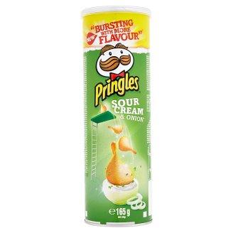 Pringles Sour Cream & Onion Flavoured Snack 165 g