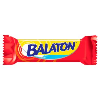 Balaton Wafer Filled with Cocoa Cream Coated in Cocoa Dark Dollop 30 g