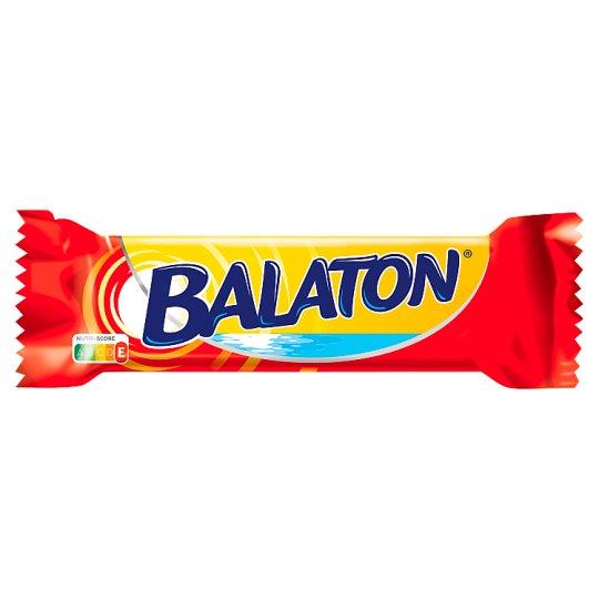 Balaton Wafer Filled with Cocoa Cream Coated in Cocoa Dark Dollop 30 g