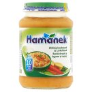 Hamánek Vegetables with Couscous & Chicken Food for Babies 10+ Months 190 g