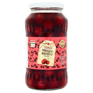 Tesco Pitted Tinned Sour Cherry 680 g