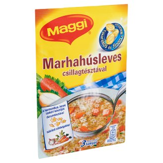 Maggi Beef Soup with Star Shaped Pasta 35 g