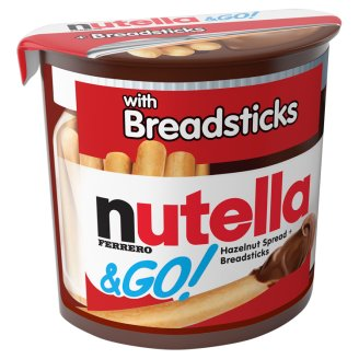 Nutella & Go! Cocoa Hazelnut Spread with Crispy Sticks 52 g