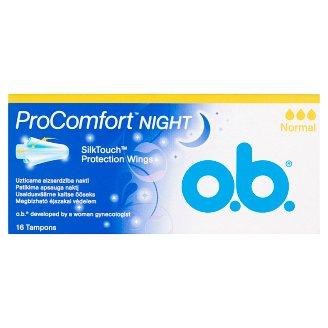 o.b. ProComfort Night Normal tampon 16 db