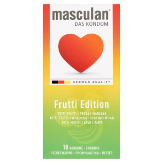 Masculan Special Edition Coloured and Flavoured Condoms 10 pcs