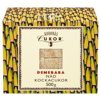 Koronás Cukor Demerara Cane Sugar Cubes 500 g