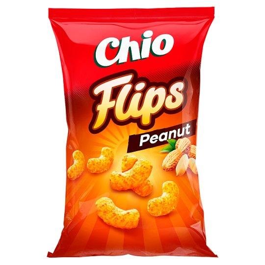 Chio Flips kukorica-földimogyoró snack 100 g