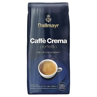 Dallmayr Caffé Crema Perfetto Roasted Coffee, Whole Beans 1000 g
