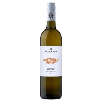 Bujdosó Csomó Balatonboglári Sauvignon Blanc száraz magyar fehérbor 11,5% 750 ml