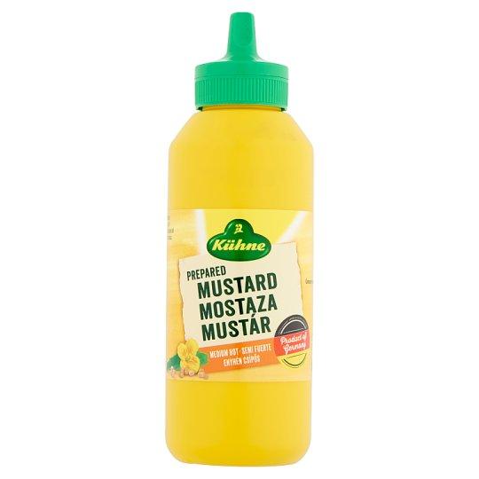 Kühne Medium Hot Mustard 255 g