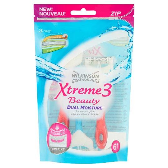 Wilkinson Sword Xtreme3 Beauty Disposable Razor 6 pcs