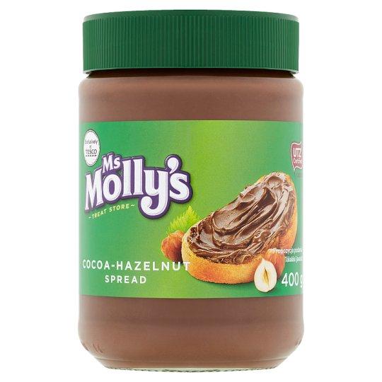 Ms Molly's kakaós-mogyorós kenhető krém 400 g