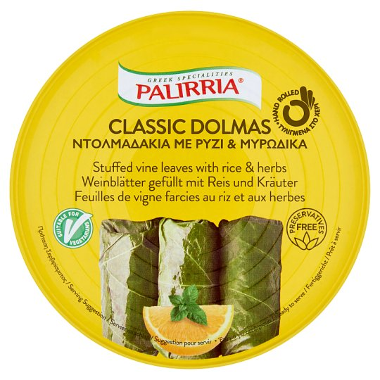 Palirria Stuffed Vine Leaves with Rice & Herbs 280 g