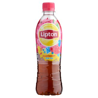 Lipton Ice Tea Low-Energy Raspberry Flavoured Non Carbonated Drink 500 ml