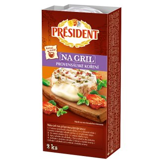 Président Grill Camembert Cheese 2 x 90 g + 5 g Spice Mix