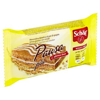 Schär Pausa Piú Gluten-Free Sponge Slice with Milk Cream Filling 30 g