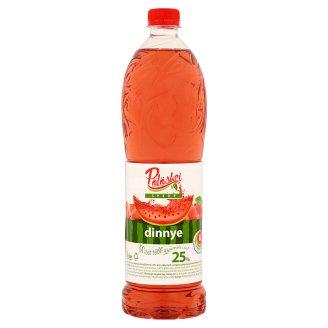 Pölöskei Watermelon Flavoured Syrup with Sugar and Sweetener 1 l