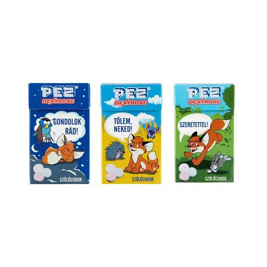 Pez Dextrose Licences Mixed Fruit Flavoured Dextrose Tablets 30 g