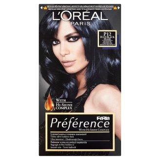 L'Oréal Paris Préférence P12 intenzív kékesfekete prémium ultra-ellenálló hajfesték