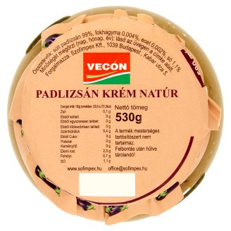 Vecon Unflavoured Eggplant Cream 530 g