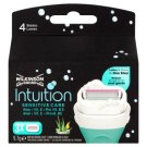 Wilkinson Sword Intuition Sensitive Care 4 pengés borotvabetét 3 db