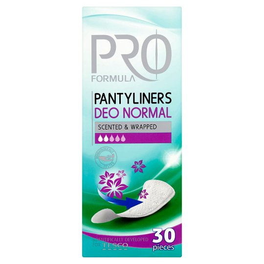Tesco Pro Formula Deo Normal Pantyliners 30 pcs