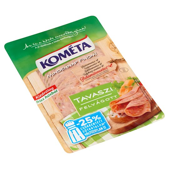 Kométa Mindennap finom! Sliced Cold Cuts with Vegetables 125 g