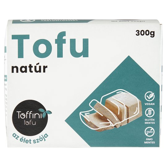 Toffini Tofu Unflavoured Soy Product 300 g