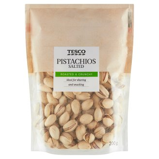Tesco Roasted, Salted Pistachios 200 g