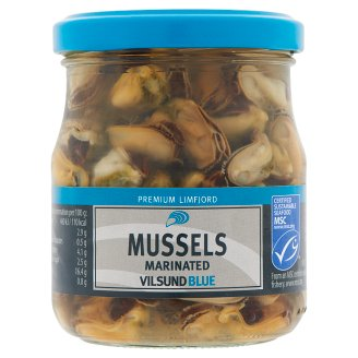 Vilsund Blue Marinated Mussels 200 g