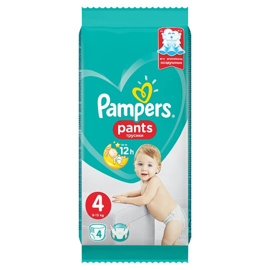 Pampers Pants, Méret: 4, 4 Bugyipelenka, Könnyen Feladható