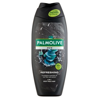 Palmolive Men Refreshing 2 in 1 tusfürdő és sampon 500 ml