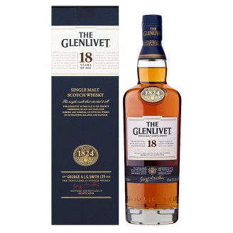 The Glenlivet 18 Years Old Scotch Malt Whisky 43% 0,7 l